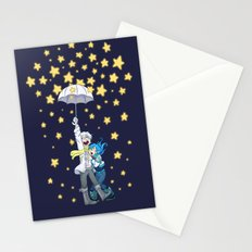 DMMd :: The stars are falling Stationery Cards