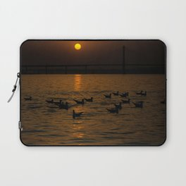 painting a golden picture...  Laptop Sleeve
