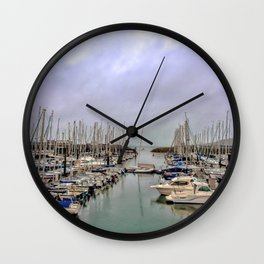 Howth Harbour Wall Clock