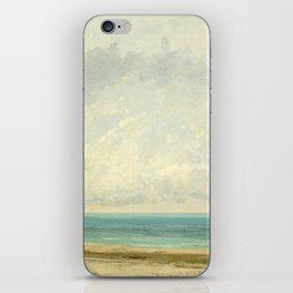 Gustave Courbet, Calm Sea, 1866 iPhone Skin