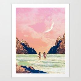Joyful Dusk Art Print