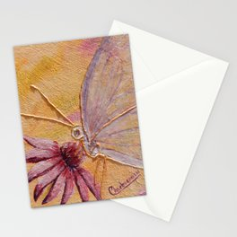 Little mirror butterfly | Petit Miroir papillon Stationery Cards