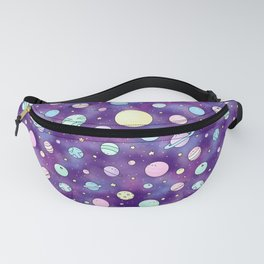 Need Some Space! Kawaii Galaxy Doodle Fanny Pack