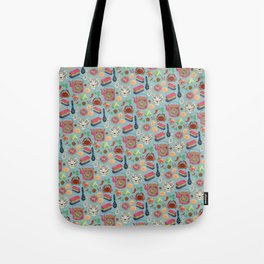 Peranakan tea party Tote Bag