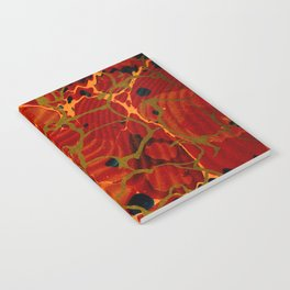 Marbelous Copper and Gold Notebook