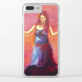 She Surrenders Clear iPhone Case