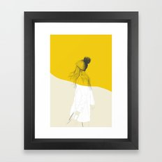Woman Color 7 Framed Art Print