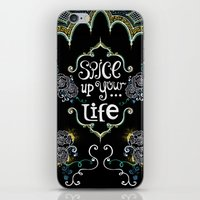 spice iPhone & iPod Skins featuring Spice by Melinda Francis