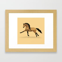Horse. Framed Art Print