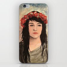 Tea Lady iPhone & iPod Skin
