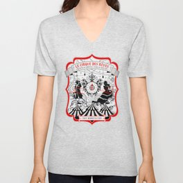 The Night Circus - light Unisex V-Neck