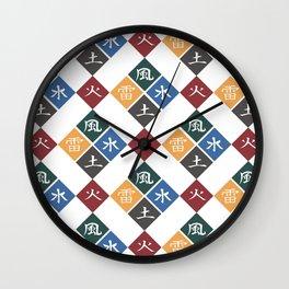KAGE Symbol Japanese Wall Clock
