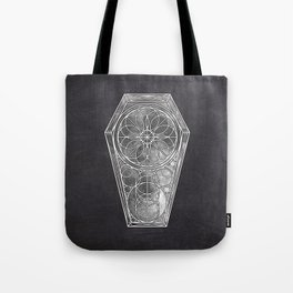 Sacred Geometry Dreamstate - Moon Tote Bag