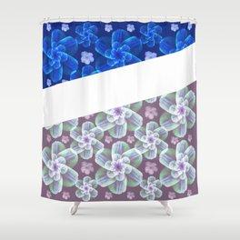 grace florals Shower Curtain