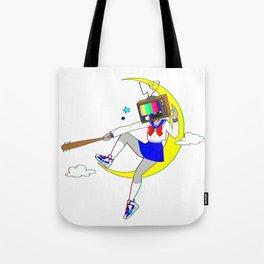 Wannabe Heroine by bluethebone Tote Bag
