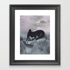 I Will Never Leave You Framed Art Print