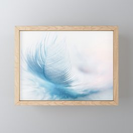 Soft feather Framed Mini Art Print