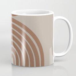 Rainbow Retro Art Coffee Mug