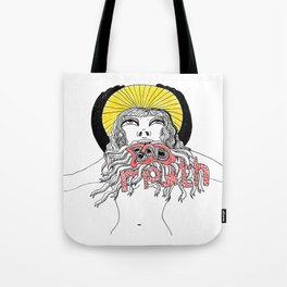 Bad Mouth Tote Bag