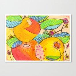 Big Citrus Canvas Print