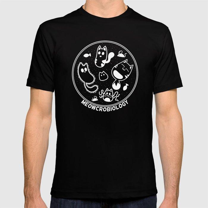 Meowcrobiology T-shirt