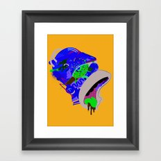 Homer 1. Framed Art Print