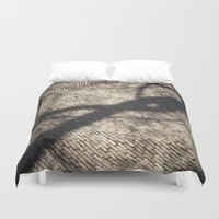 shadow Duvet Covers featuring Shadow by Maria Heyens