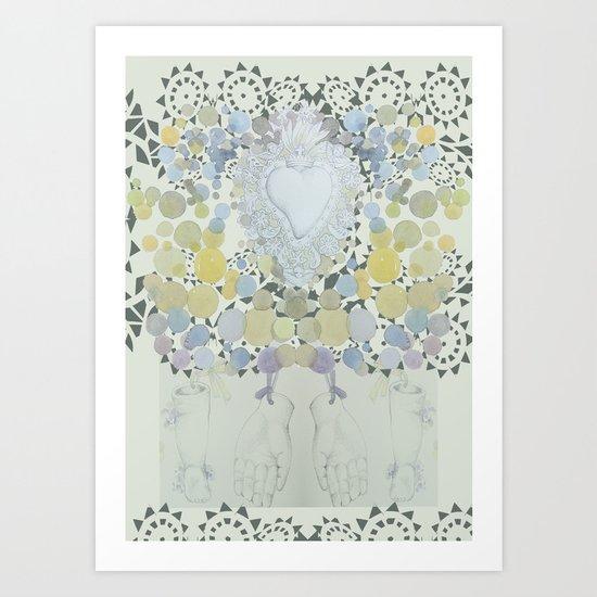 e.l. Art Print