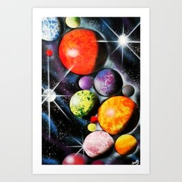 New Space Age Art Print