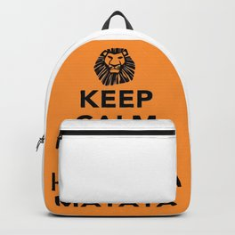 KEEP CALM AND HAKUNA MATATA Backpack