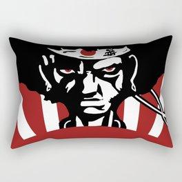 Afro Samurai Acrylic Painting - Anime Fan Art Print Rectangular Pillow