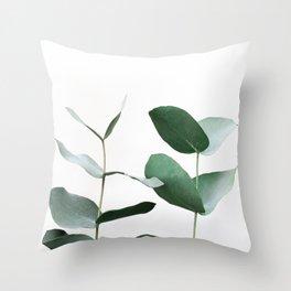 Eucalyptus 5 Throw Pillow
