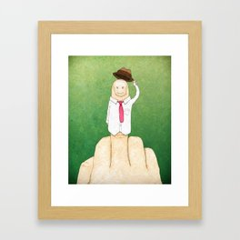 Greetings From Mr. Bird Framed Art Print