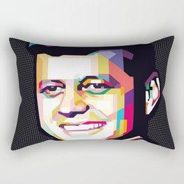 John F. Kennedy Rectangular Pillow