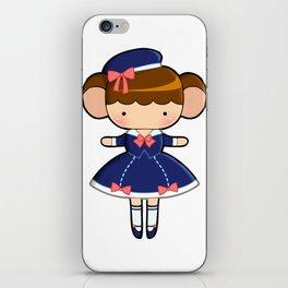Sailor Lolita Monkey iPhone Skin