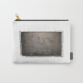 Join or Die Grunge Flag Carry-All Pouch