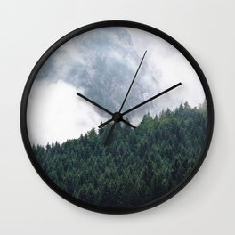 The Clearest Way Wall Clock