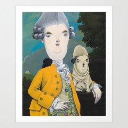 Sir William Pugsworth Art Print