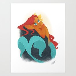 MERMAY 2018 Daydreamer Mermaid Art Print