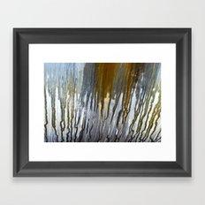 Metal Rain I Framed Art Print