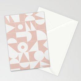 My Favorite Geometric Patterns No.11 - Pale Pink Stationery Cards