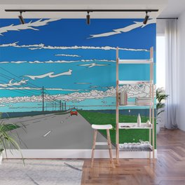 Road to Cape Canaveral Wall Mural