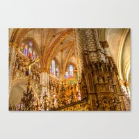 ornate Canvas Prints featuring Ornate by John Hinrichs