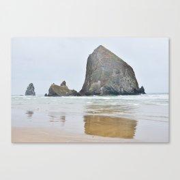Haystack Rock in Cannon Beach Oregon Canvas Print