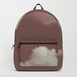 NEPHELAI SERIES Little clouds on dusty pink Backpack