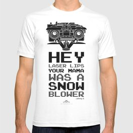 """Johnny 5 """"Laser Lips Red Edition"""" T-shirt"""