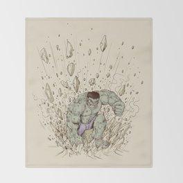 Hulk Smash Throw Blanket