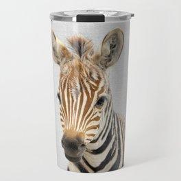Baby Zebra - Colorful Travel Mug