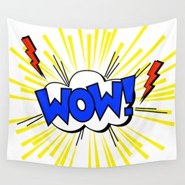 WOW ! Wall Tapestry