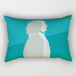 Two men Rectangular Pillow